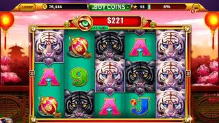 ★★★House of Fun  | Free Casino Slot Game |  The 3 tigers | Games Moment reviews★★★
