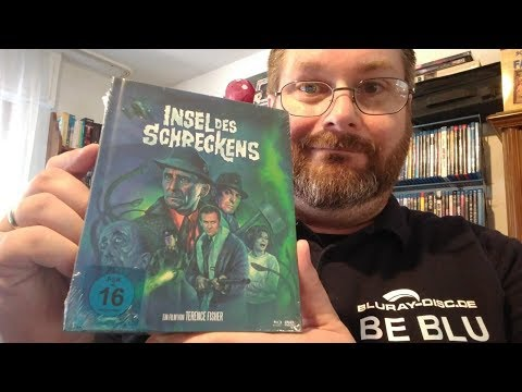 Unboxing INSEL DES SCHRECKENS (Limited Mediabook Edition - Cover A) Von Koch Films
