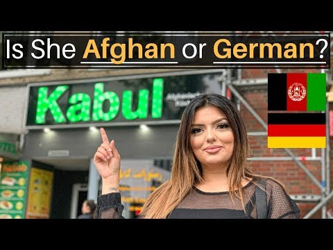 Is She Afghan or German? (THIRD CULTURE KID)