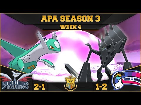 DEVASTATING! • Detroit Steel Wings vs Montreal Toucannadiens APA W4 • Pokemon Ultra Sun and Moon