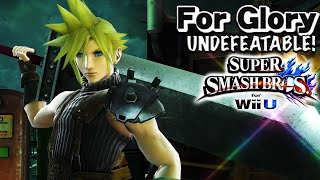 HE KILLS THAT EARLY? | Undefeatable! CLOUD Ep. 1- SSB4 Wii U (For Glory) HD