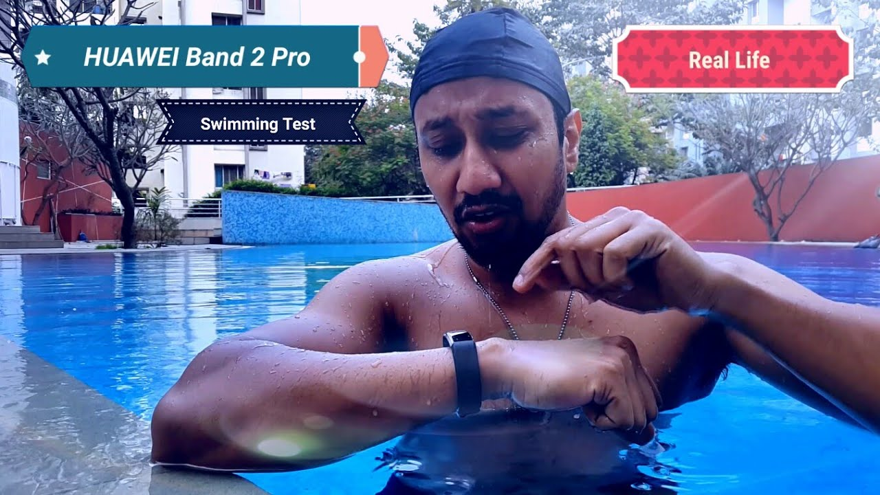 Huawei Band 2 Pro Real Life Swimming Test
