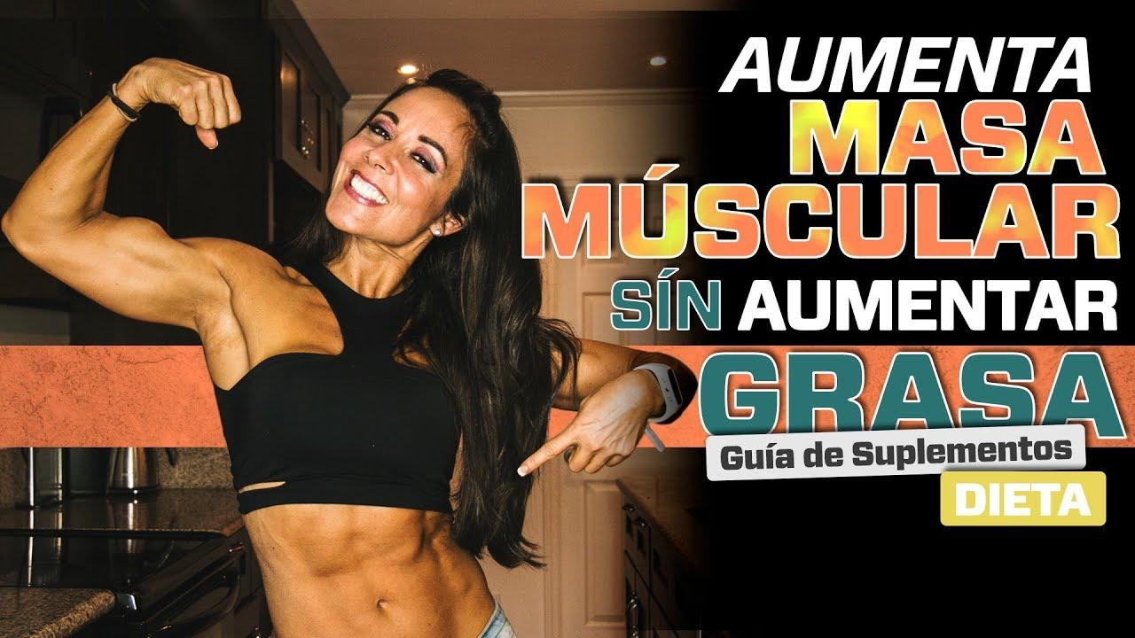 dietas para ganar masa muscular sin engordar