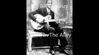Watch Big Bill Broonzy Down In The Alley video