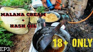 Malana Cream Hash Brownies In Kasol (400 RS) & How They Make It | Chalal | Tosh | Malana