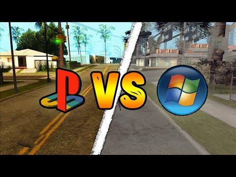 Сравнение GTA San Andreas | PS2 Vs PC