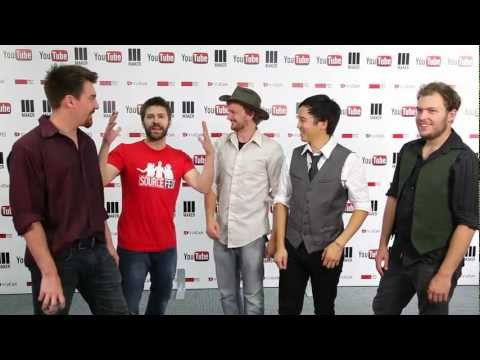 The Keep backstage at Vidcon 2012