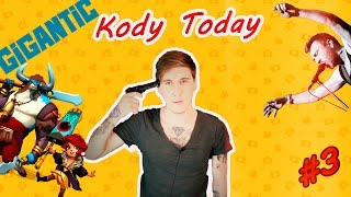 Kody Today #3  [Самоубийство, Группа Ленинград - Обезьяна и Орел, Новая MOBA Gigantic]