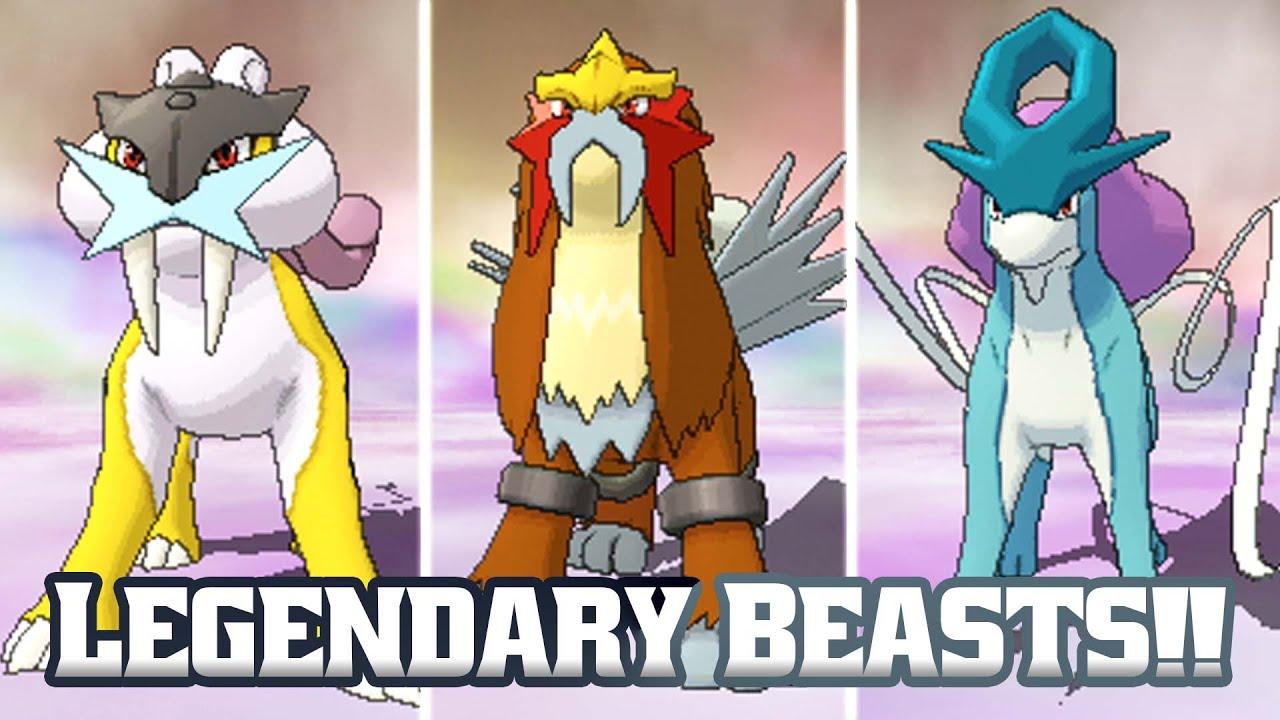Pok 233 Mon Omega Ruby Legendary Beasts Bonus Ep 12 Youtube