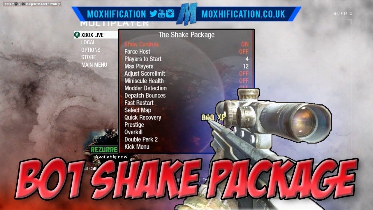 BO1 | TU11 | The Shake Package | Sniping/TS Menu | +Download