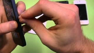 Dimostrazione Taglio Sim Standard per creare Nano Sim per iPhone 5 con cutter
