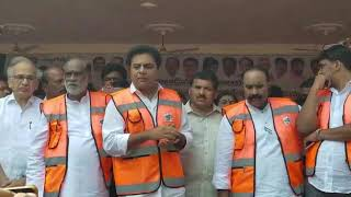 MINISTER KTR IN CITY CENTRAL LIBRARY, CHIKKADPALLY, HYD,  SANCTIONS Rs 5 Cr FOR FACILITIES