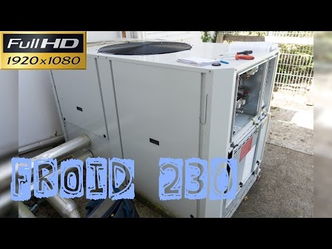 Froid230-GEG-Présentation Du Groupe D'eau Glacée 30RBS 045 Carrier