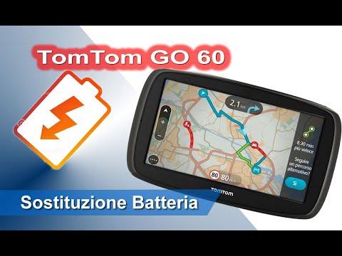 TomTom GO 60 smontaggio e sostituzione batteria - Disassembly and Battery replacement