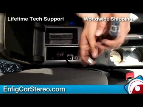 Replace Volkswagen iPod dock for Ipod iPhone AUX adapter Dension GW1LVWT
