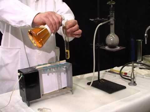 phản ứng etilen với nước brom Br2.wmv