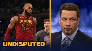 Chris Broussard reacts to an executive suggesting the Cavs should trade LeBron & Love | UNDISPUTED thumbnail