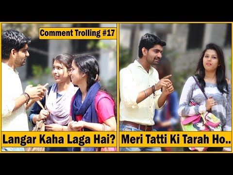 Langar Kaha Laga Hai? Prank - Comment Trolling #17 | The HunGama Films