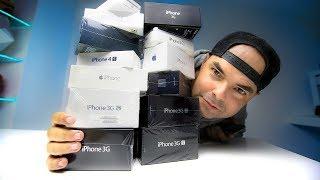 COLEÇÃO TODA de IPHONES 💶💶 20,000€ 💶💶