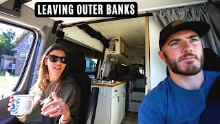 Ocracoke Island - The Coolest Beach Town in North Carolina and Finding More DONUTS! - Van Life Ep 17