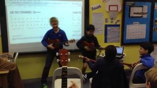 Music: Learning the Ukulele at The Harbour School