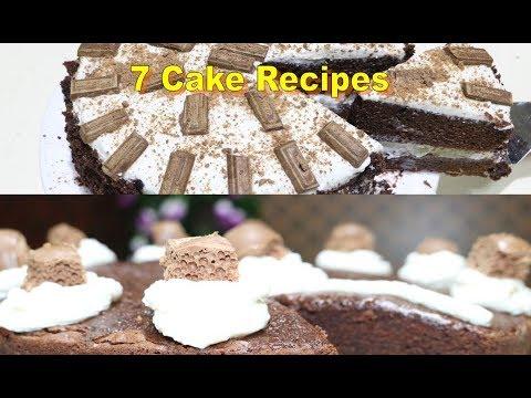 rainbow cakes | Very Tasty Seven Cake Recipes | 7 unique cake recipes | Orange Cake | Black Forest