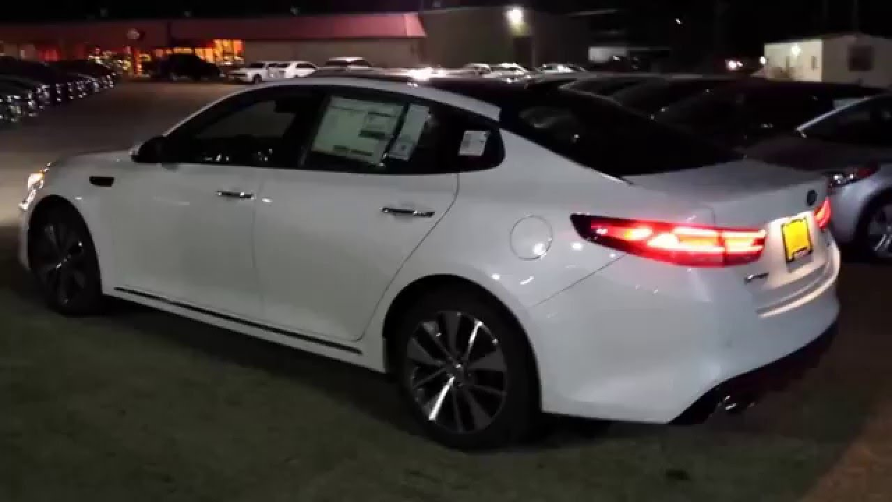 2016 Kia Optima SX Limited At Night - YouTube