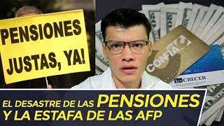 EL DESASTRE DE LAS PENSIONES Y LA ESTAFA DE LAS AFP - SOY JOSE YOUTUBER