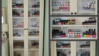 Nails 101: My Nail Polish Storage