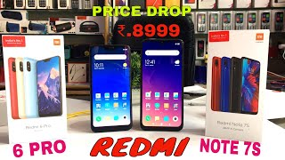 Redmi Note 7s Vs Redmi 6 Pro Unboxing+Compare and Price Drop online sale
