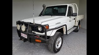 (SOLD) Toyota Landcruiser Ute with 1HD 4.2L Turbo Diesel Engine 2005 79 Series 4x4 Review