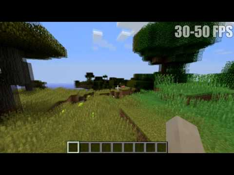 MINECRAFT FPS TEST - AMD Quad-Core A8-7410 w/ Radeon R5