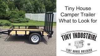Tiny House  Camper Trailer Overview