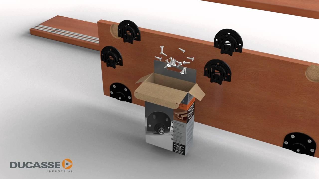 AL 1535 Madera: Sistema para puertas de muebles. - YouTube