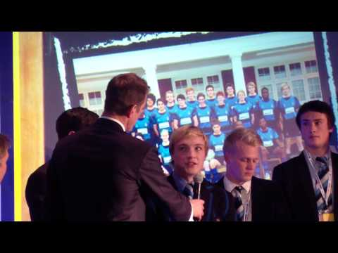 Dulwich College - Aviva/Daily Telegraph School Sports Team of the Year 2012 Awards