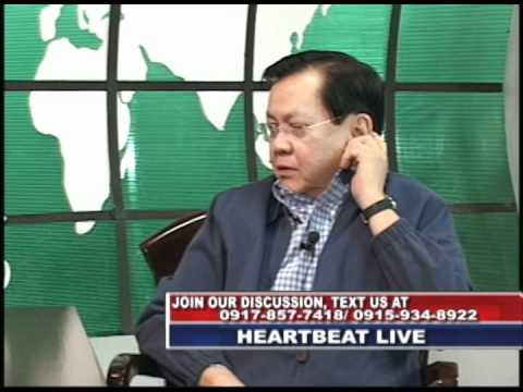 heartbeat episode 102111 with guest senator sergio osmeña III (part4)