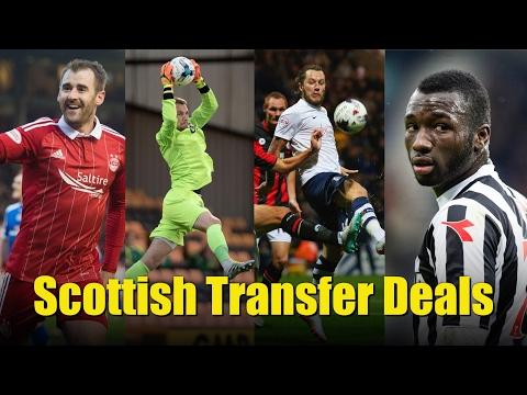 Daily record - scottish transfer deals (january 28, 2017)