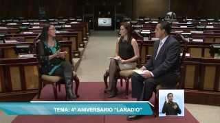 TVL Noticias- Entrevista a Verónica Salgado, Directora Radio de la Asamblea Nacional  07-05-2015