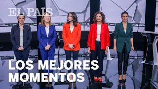DEBATE de MUJERES | Los mejores momentos de LAS REPRESENTANTES de los partidos