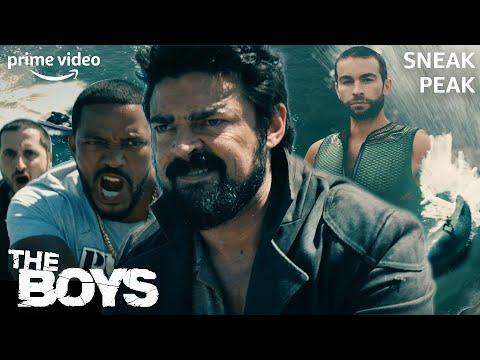 Kampf mit dem Wal | The Boys | Sneak Peak | Prime Video DE