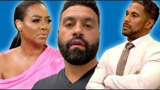 Apollo Nida Sends SHOCKING Message to Kenya Moore's Husband Marc Daly | EXCLUSIVE CLIP