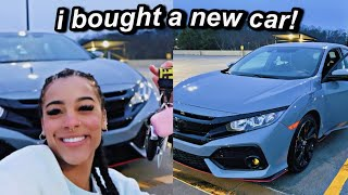 Vlog: I Bought A NEW Car! Come Car Shopping With Me | Azlia Williams