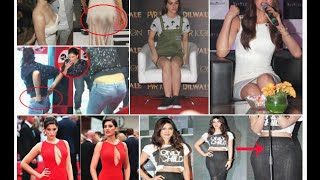 2015 Shocking Oops Moments Of Bollywood Celebrities | Wardrobe Malfunctions