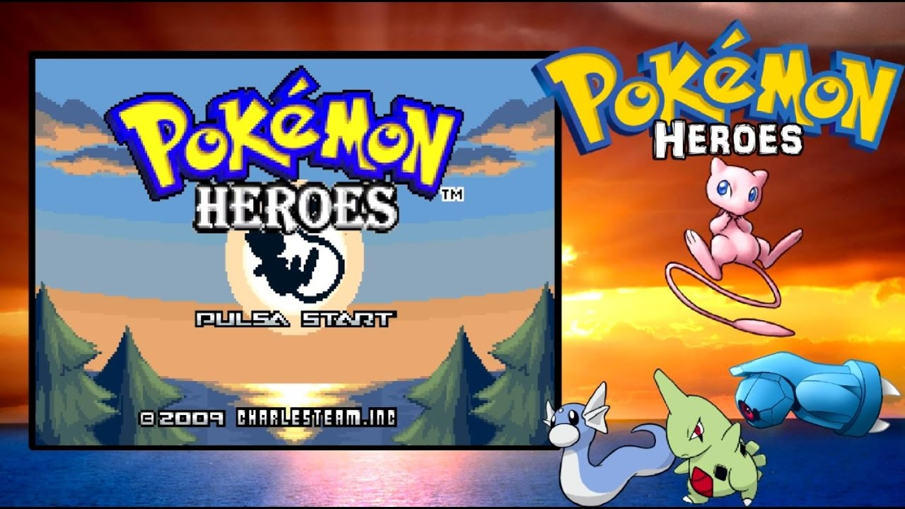 pokemon heroes gba download zip