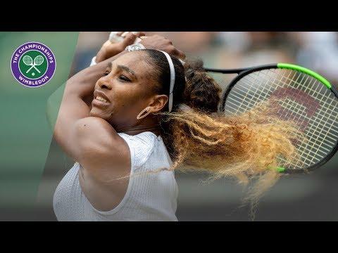 Serena Williams vs Julia Goerges Wimbledon 2019 Third Round Highlights