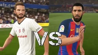FIFA 17 (TÜRKÇE) Oynuyoruz | Beşiktaş vs Barcelona