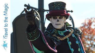 Mickey's Halloween Celebration - Show Central Plaza - Grave Digger/Bride Stage - Disneyland Paris
