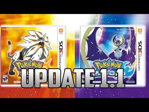 Pokemon Sun and Moon Update 1.1 IS OUT!