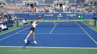 Maria Sharapova, 2019 US Open practice, 4K