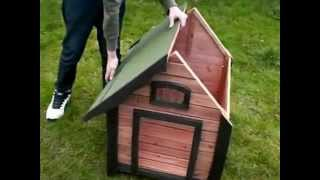 Luxury Wooden Kennel. Guide To Construction.
